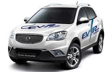 SsangYong Korando C EV-R aan de range-extender