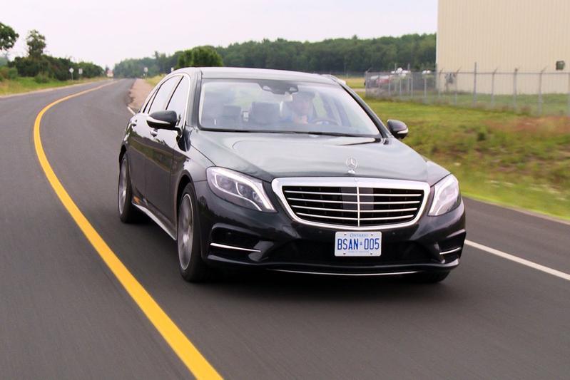 Rij-impressie Mercedes S-klasse