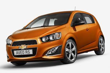 Geen Chevrolet Aveo RS voor Nederland