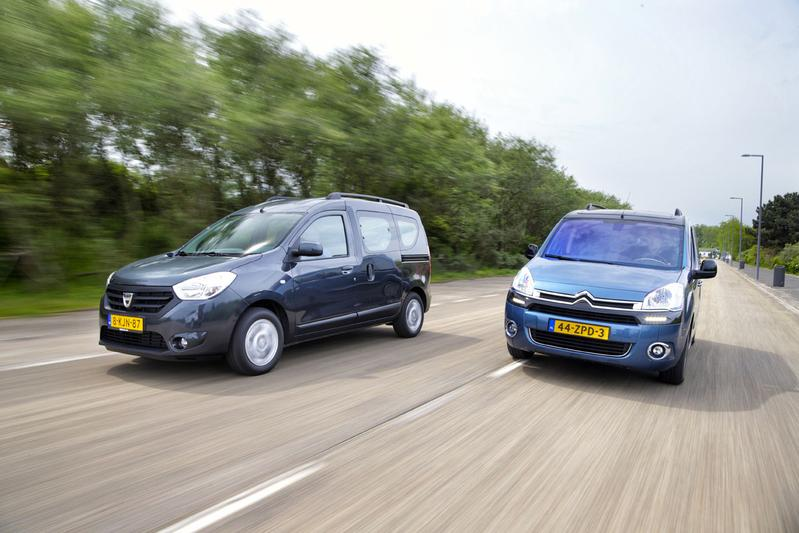 Citroën Berlingo Multisplace - Dacia Dokker