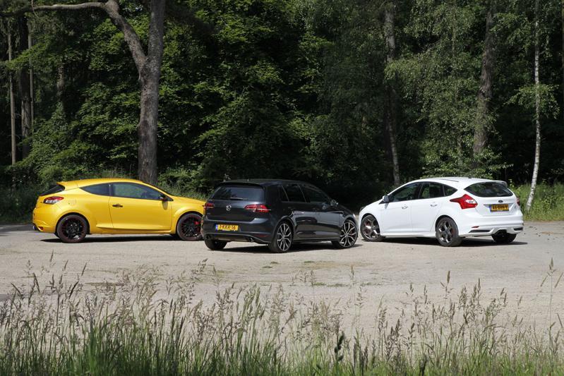 Volkswagen Golf GTI - Renault Mégane RS - Ford Focus ST
