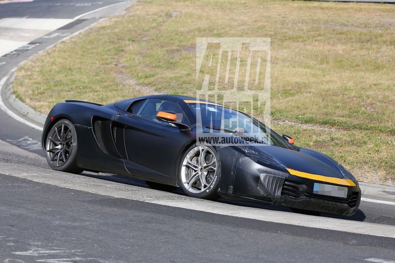 McLaren aan het testwerk: 'kleintje' P13