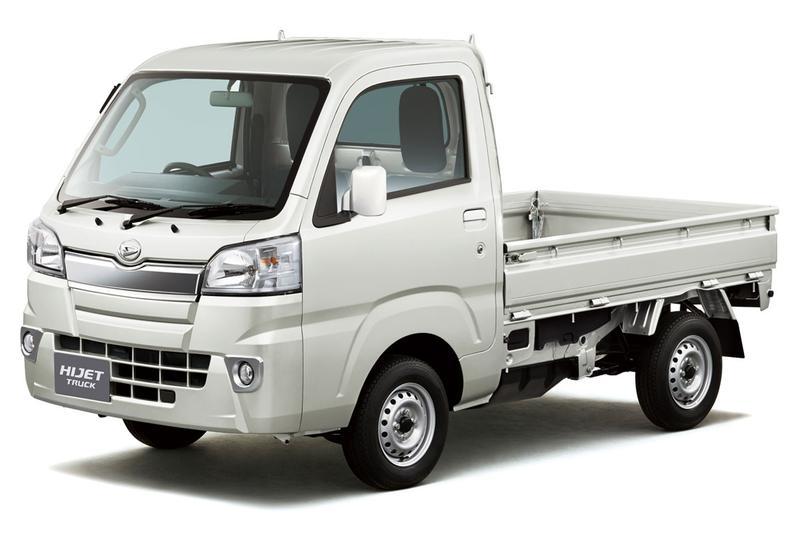 Daihatsu Hijet aangescherpt