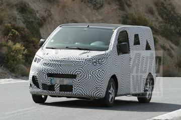 Citroën Jumpy en Peugeot Expert ingepakt gespot