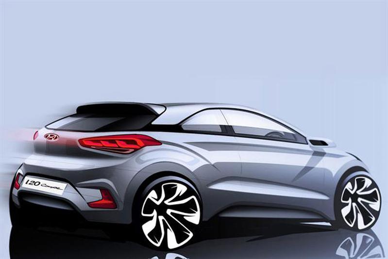Hyundai plaagt met schets i20 Coupé