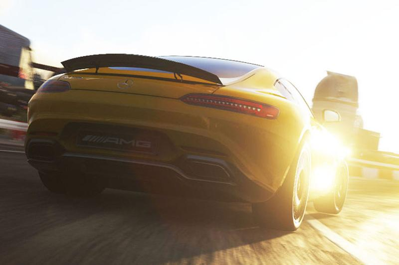 Racegame verklapt kont Mercedes AMG GT