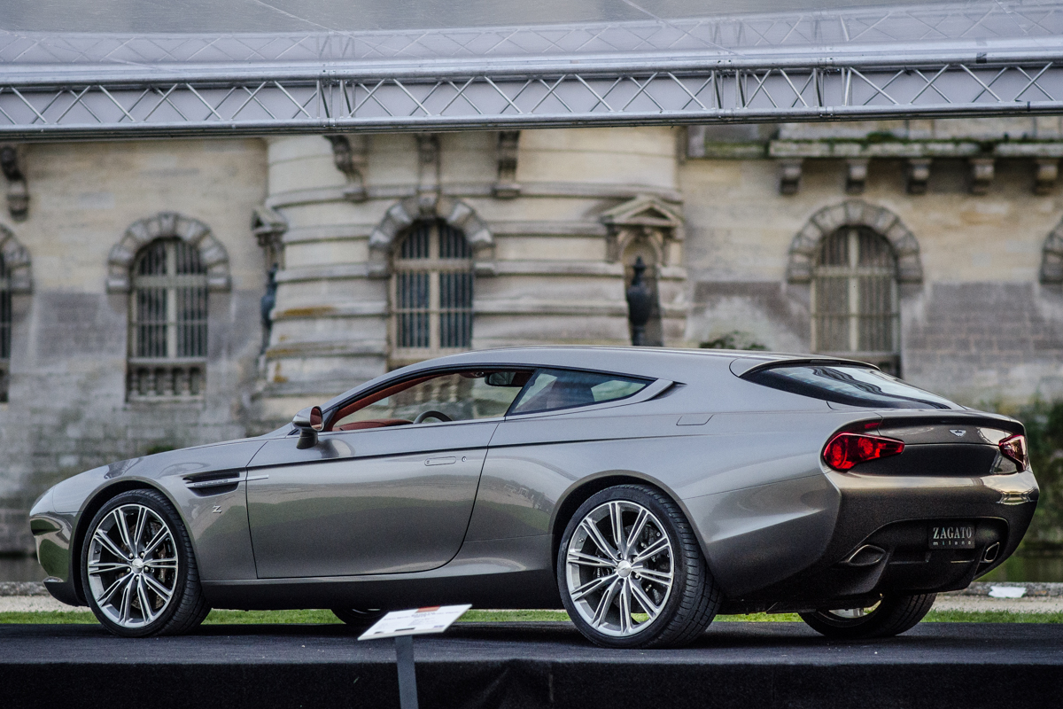 Aston Martin Virage Shooting Brake Zagato Foto S