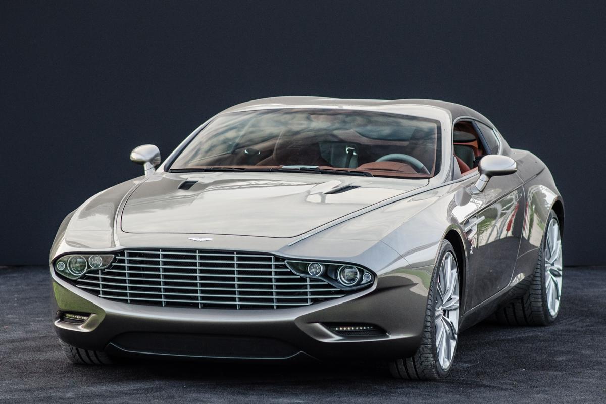 Aston Martin Virage Shooting Brake Zagato foto's ...