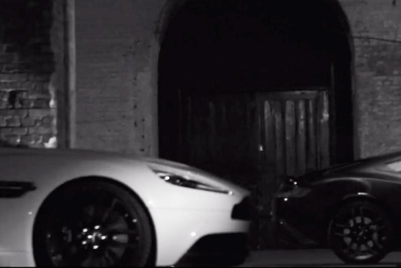 Aston Martin plaagt met speciale Vanquish