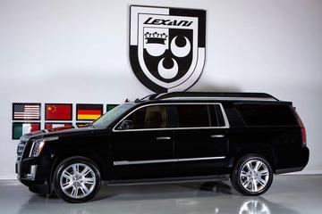 Cadillac Escalade Concept One: glimfeestje