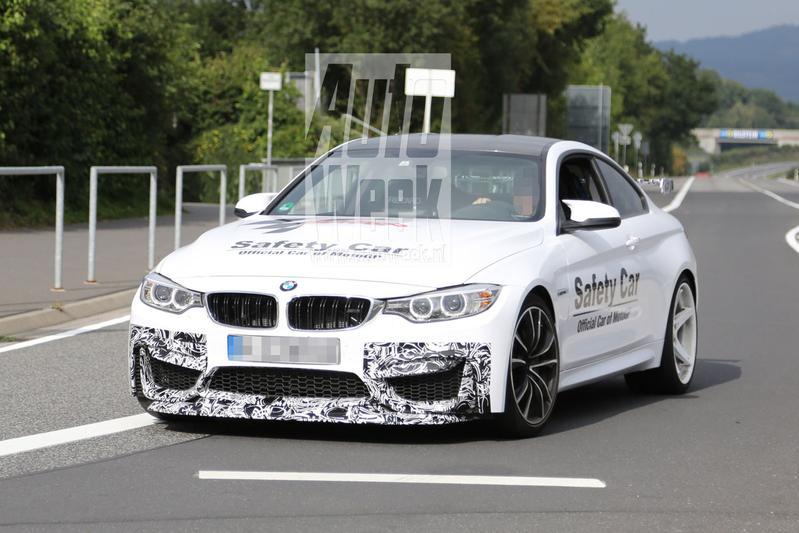 Nóg brutere BMW M4 gespot