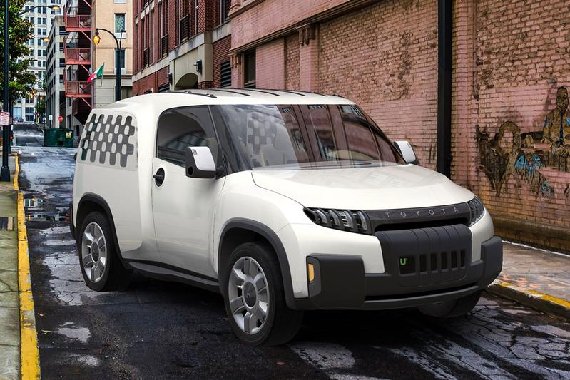 Lekkere besteller: Toyota Urban Utility Concept