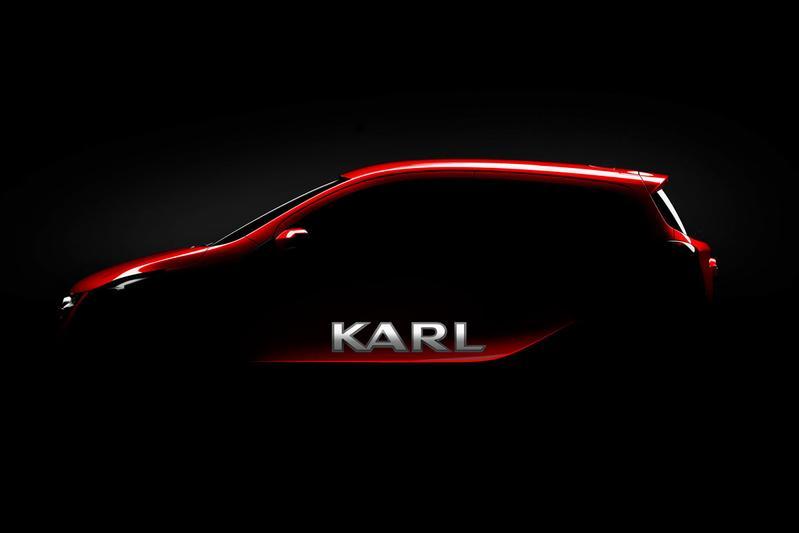Nieuwe instap-Opel gaat Karl heten