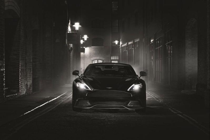 Aston Martin Vanquish als Carbon Edition