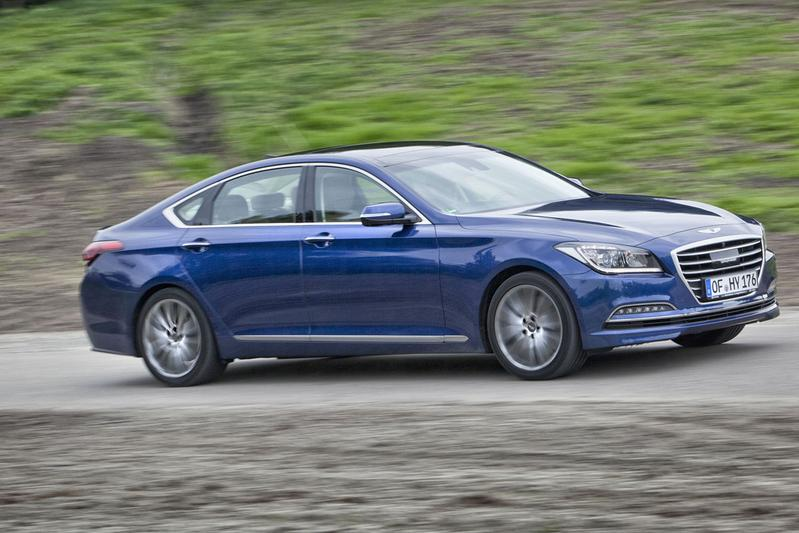 Gereden: Hyundai Genesis