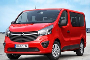 Opel Vivaro ook als achtpersoons Combi