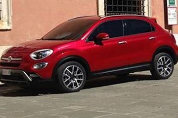Fiat 500X voortijdig naar buiten in het thuisland