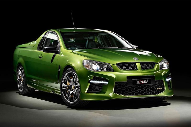 Holden HSV GTS Maloo: 585 pk sterke pick-up