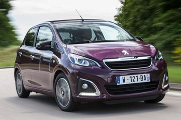 Peugeot 108 Blue Lease is terug