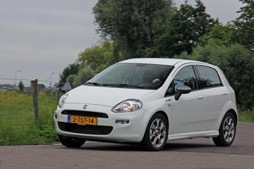 Fiat zet punt achter Punto