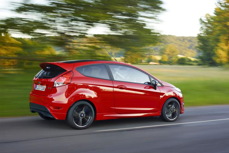 Ford Fiesta Black/Red Edition