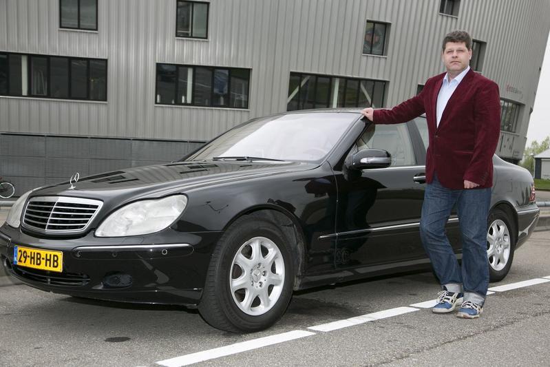 Op de rollenbank - Mercedes S 400 CDI
