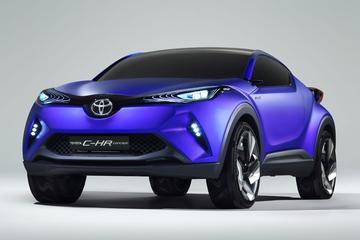 Toyota C-HR is voorbode nieuwe cross-over