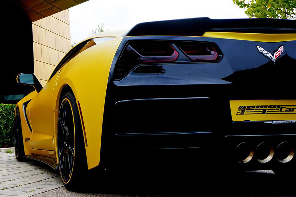 geiger cars neemt corvette stingray te grazen autonieuws. Black Bedroom Furniture Sets. Home Design Ideas