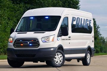 Bajesklant: Ford Transit Prisoner Vehicle