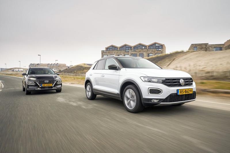 Volkswagen T-Roc - Hyundai Kona - Toyota C-HR