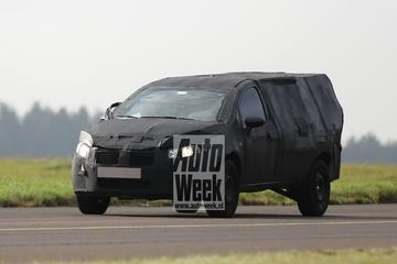 Fiat pick-up gespot