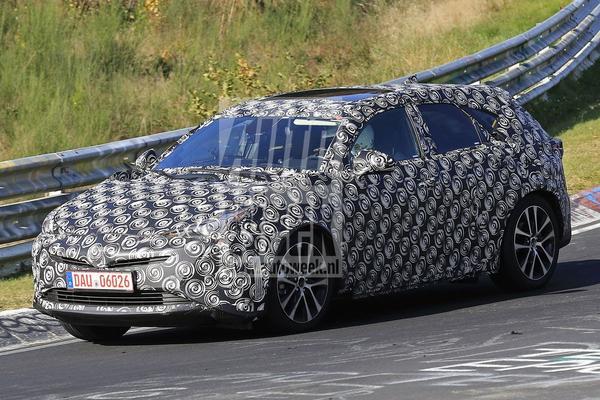 Lexus CT-opvolger in beeld (vermoedelijk)