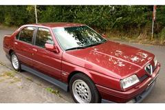 In het wild: Alfa Romeo 164 Q4 (1996)