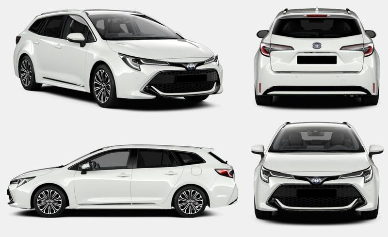 Toyota Corolla Touring Sports 1.8 Hybrid Executive (2019)