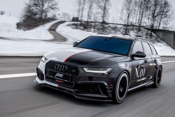 Jon Olsson weer aan de Audi RS6 Avant