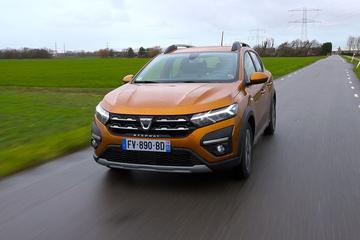 Dacia Sandero Stepway - Rij-impressie