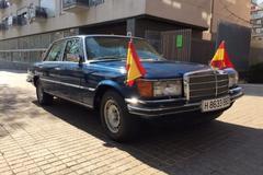 Mercedes 450 SEL Spaanse Koning onder de hamer