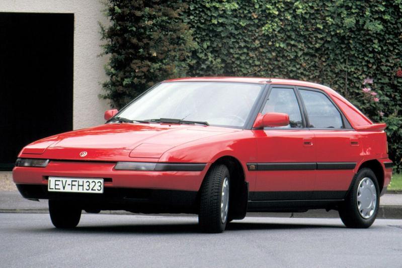 Mazda 323 F 1.6i GLX (1991)