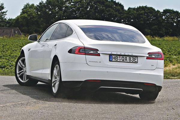 Tesla Model S Duitsland