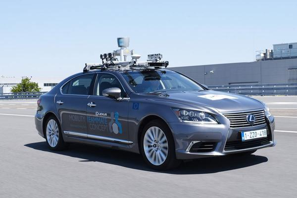 Toyota maakt eerste autonome Europese testkilometers