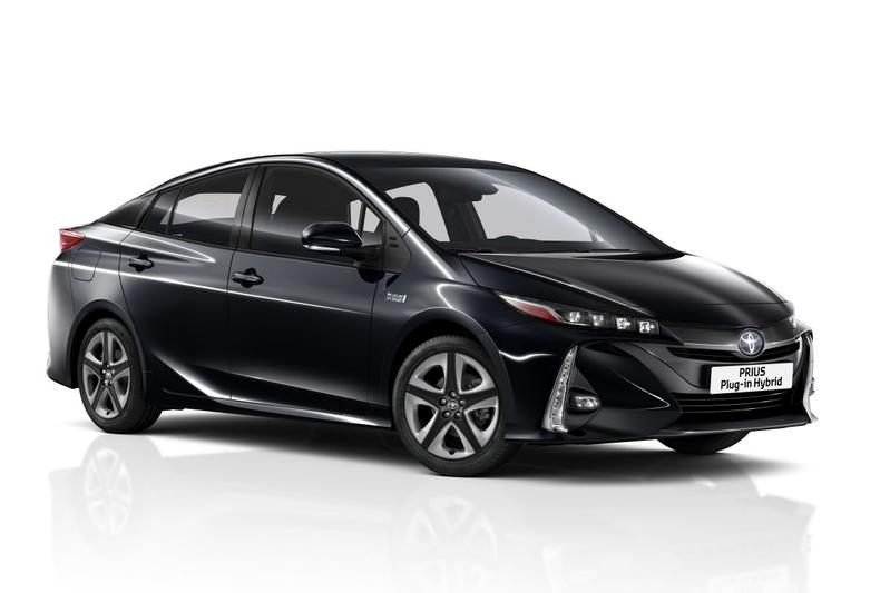 Facelift Toyota Plug-in Hybrid