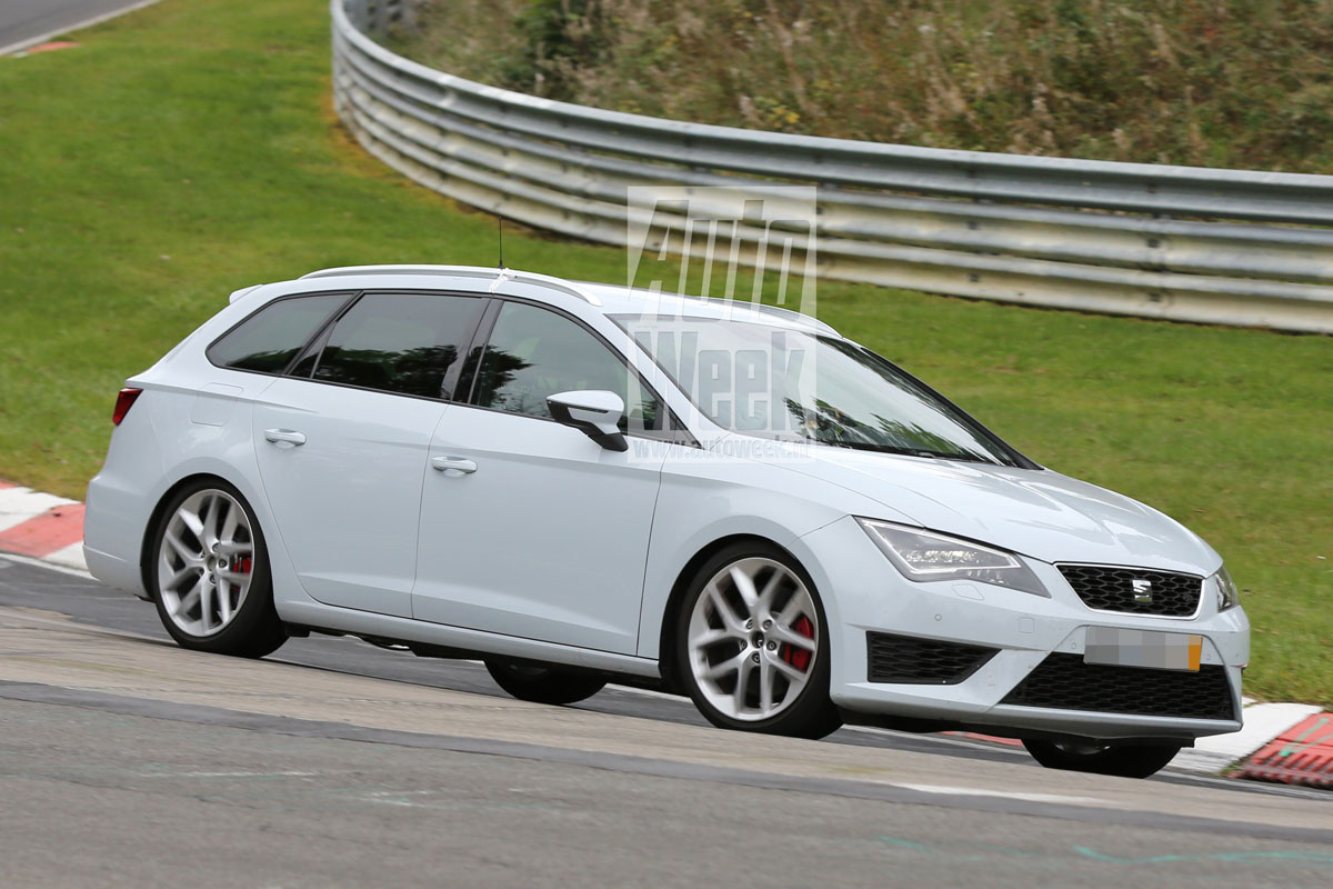 seat leon st cupra stuift over de 39 ring autonieuws. Black Bedroom Furniture Sets. Home Design Ideas