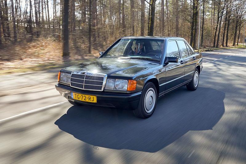 Mercedes-Benz 190 D (1988) - Klokje Rond Klassiek