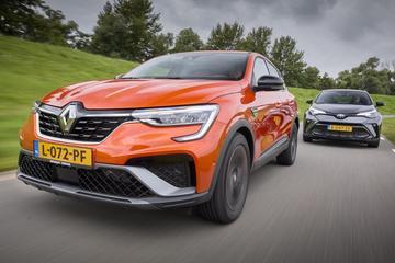 Renault Arkana vs. Toyota C-HR - Dubbeltest