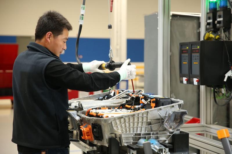 Batterijfabriek Shenyang BMW Group