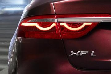 Verlengde Jaguar XF voor China