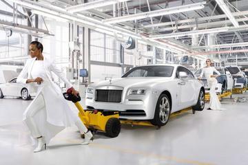 Modepopje: Rolls-Royce Wraith Inspired by Fashion