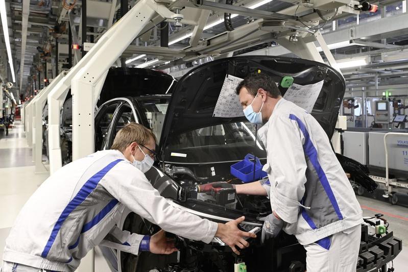 Volkswagen ID.3 productie Zwickau fabriek