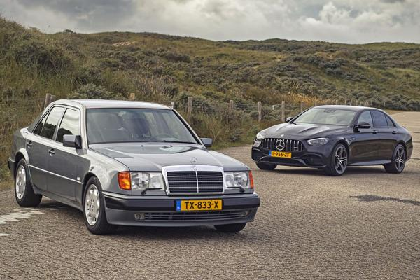 Mercedes-Benz 500 E vs. Mercedes-AMG E 63 S