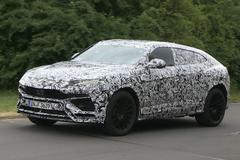 Lamborghini Urus – Spionage